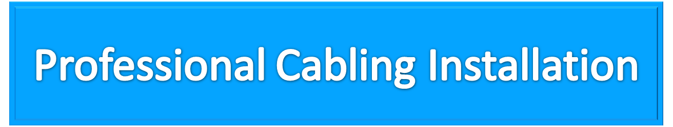 Professional Cabling Banner 3